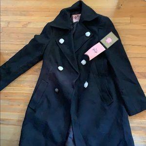 Juicy couture long pea coat